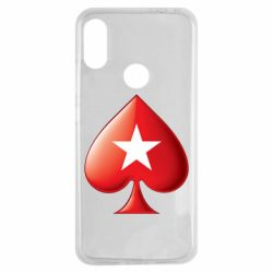 Чохол для Xiaomi Redmi Note 7 Poker Stars 3D Logo