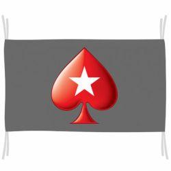 Прапор Poker Stars 3D Logo