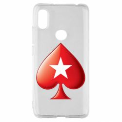 Чохол для Xiaomi Redmi S2 Poker Stars 3D Logo