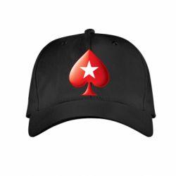 Купить Детская кепка Poker Stars 3D Logo, FatLine