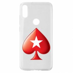 Чохол для Xiaomi Mi Play Poker Stars 3D Logo