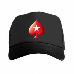 Кепка-тракер Poker Stars 3D Logo - FatLine