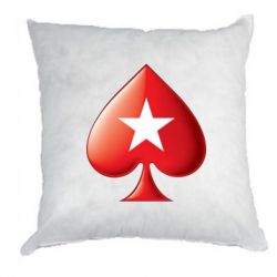 Подушка Poker Stars 3D Logo - FatLine