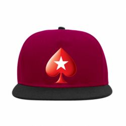 Снепбек Poker Stars 3D Logo - FatLine