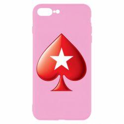 Чохол для iPhone 8 Plus Poker Stars 3D Logo