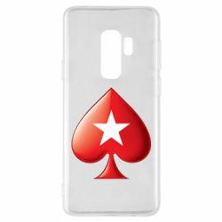 Чохол для Samsung S9+ Poker Stars 3D Logo