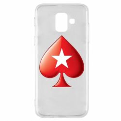 Чохол для Samsung A6 2018 Poker Stars 3D Logo