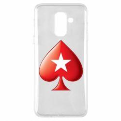 Чохол для Samsung A6+ 2018 Poker Stars 3D Logo