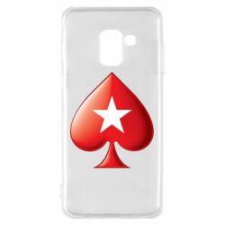 Чохол для Samsung A8 2018 Poker Stars 3D Logo
