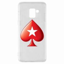 Чохол для Samsung A8+ 2018 Poker Stars 3D Logo