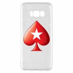 Чохол для Samsung S8 Poker Stars 3D Logo