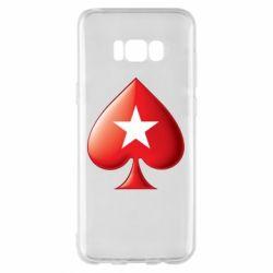 Чохол для Samsung S8+ Poker Stars 3D Logo