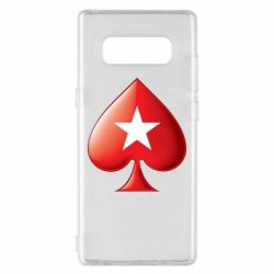 Чохол для Samsung Note 8 Poker Stars 3D Logo