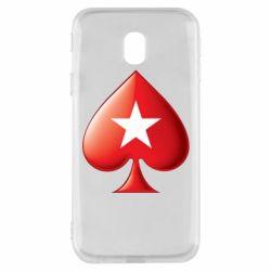 Чохол для Samsung J3 2017 Poker Stars 3D Logo
