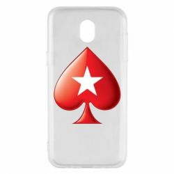 Чохол для Samsung J5 2017 Poker Stars 3D Logo