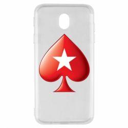 Чохол для Samsung J7 2017 Poker Stars 3D Logo