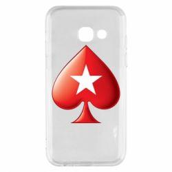 Чохол для Samsung A3 2017 Poker Stars 3D Logo