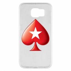 Чохол для Samsung S6 Poker Stars 3D Logo