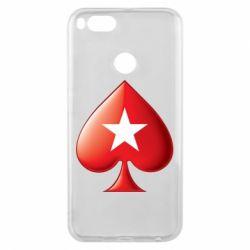 Чохол для Xiaomi Mi A1 Poker Stars 3D Logo