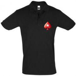 Футболка Поло Poker Stars 3D Logo - FatLine
