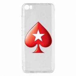 Чохол для Xiaomi Mi5/Mi5 Pro Poker Stars 3D Logo