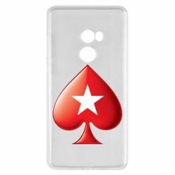 Чохол для Xiaomi Mi Mix 2 Poker Stars 3D Logo