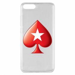 Чохол для Xiaomi Mi Note 3 Poker Stars 3D Logo