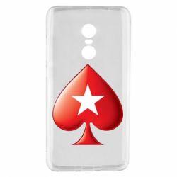 Чохол для Xiaomi Redmi Note 4 Poker Stars 3D Logo