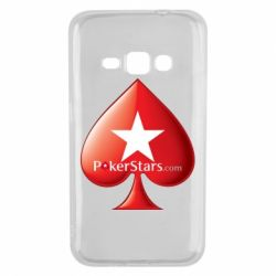 Чехол для Samsung J1 2016 Poker Stars Game