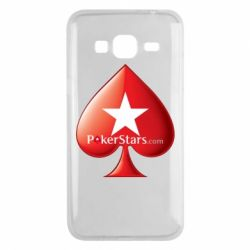 Чехол для Samsung J3 2016 Poker Stars Game