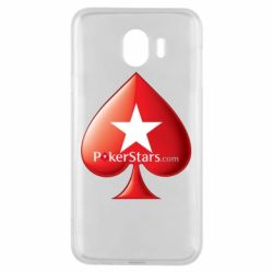 Чехол для Samsung J4 Poker Stars Game