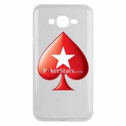 Чехол для Samsung J7 2015 Poker Stars Game