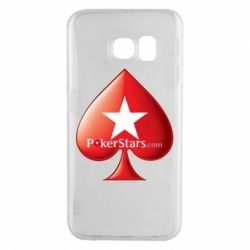 Чехол для Samsung S6 EDGE Poker Stars Game