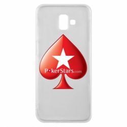 Чехол для Samsung J6 Plus 2018 Poker Stars Game