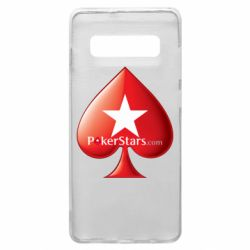 Чехол для Samsung S10+ Poker Stars Game
