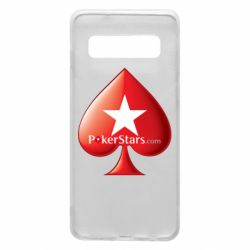 Чехол для Samsung S10 Poker Stars Game