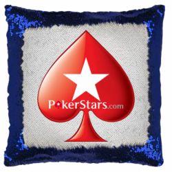 Подушка-хамелеон Poker Stars Game
