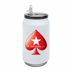 Термобанка 350ml Poker Stars Game