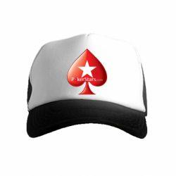 Дитяча кепка-тракер Poker Stars Game