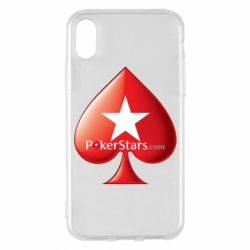 Чехол для iPhone X/Xs Poker Stars Game