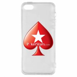 Чехол для iPhone5/5S/SE Poker Stars Game