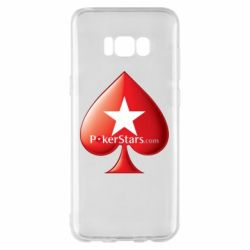 Чехол для Samsung S8+ Poker Stars Game