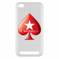 Чехол для Xiaomi Redmi 5a Poker Stars Game