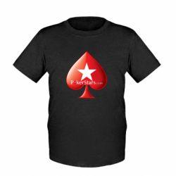 Детская футболка Poker Stars Game - FatLine