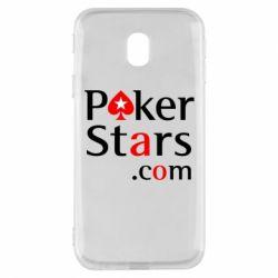 Чехол для Samsung J3 2017 Poker Stars