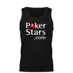 Мужская майка Poker Stars - FatLine