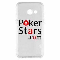 Чехол для Samsung A3 2017 Poker Stars