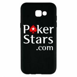 Чехол для Samsung A7 2017 Poker Stars