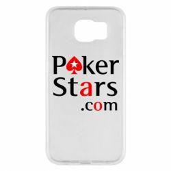 Чехол для Samsung S6 Poker Stars