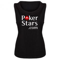 Женская майка Poker Stars - FatLine